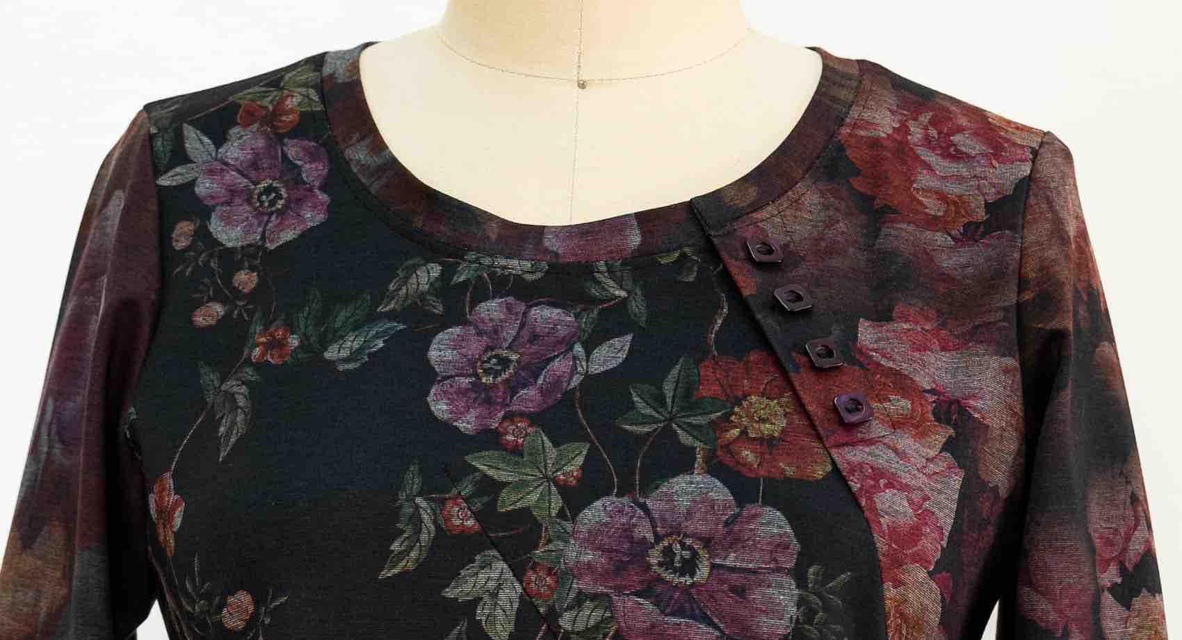 Vogue Patterns fashion designer Marcy Tilton shares sewing tips for making her Spiral Top pattern V1660.