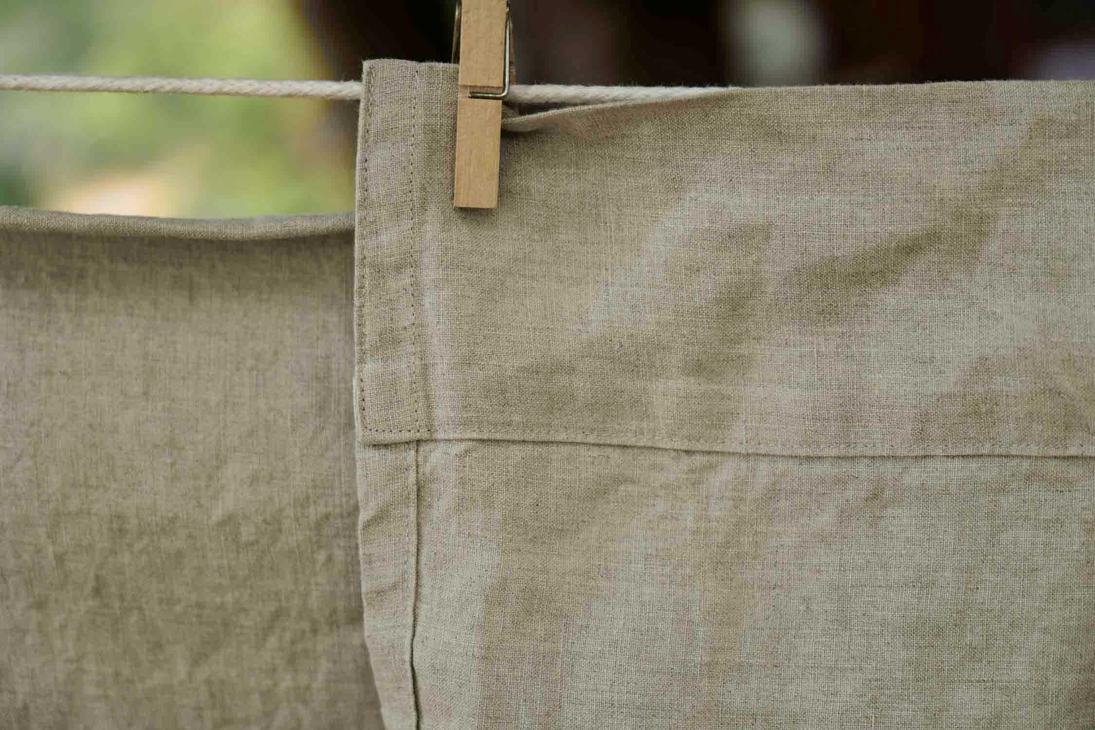 Butterick fashion designer Katherine Tilton shares sewing tips for making DIY linen sheets.