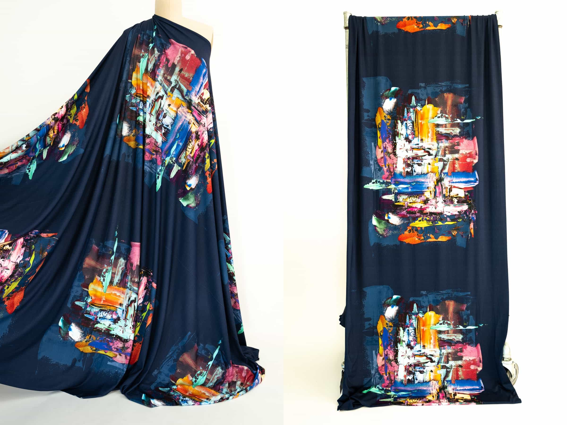 Learn how to make garments with panel prints with Butterick fashion designer Katherine Tilton.