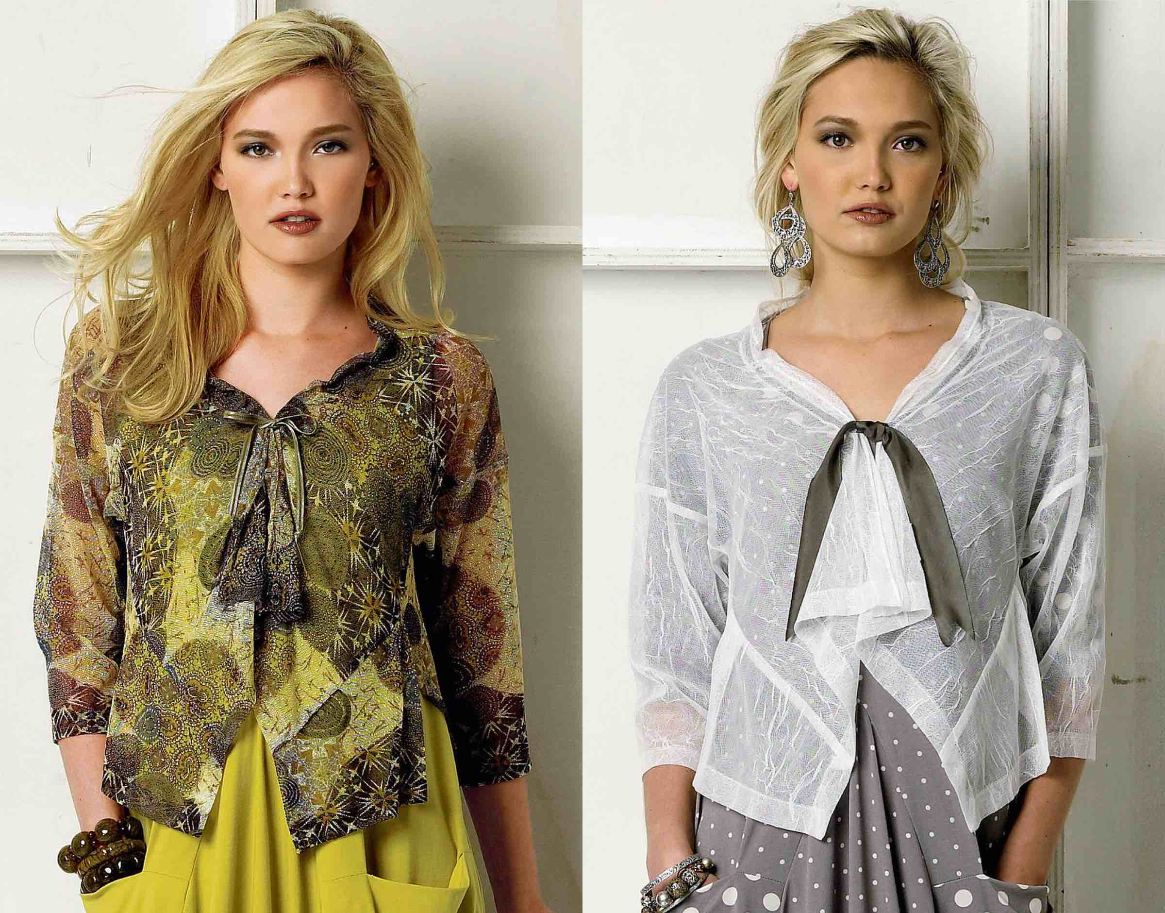 Vogue Patterns fashion designer Marcy Tilton gives tips on stable sewing with mesh, lace and net.